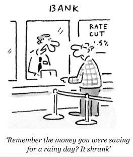 Optimising cash cartoon