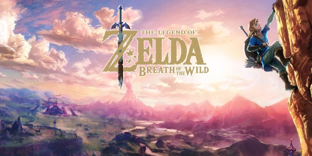 Zelda Breath of the Wild Cover Art